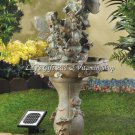 FAIRY Solar Powered WATER FOUNTAIN Outdoor Garden Accent (#12842)