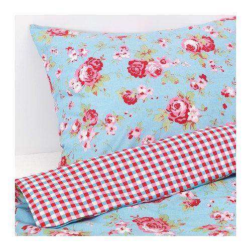 Ikea rosali n cath kidston in blue single duvet cover for Ikea bedding duvet