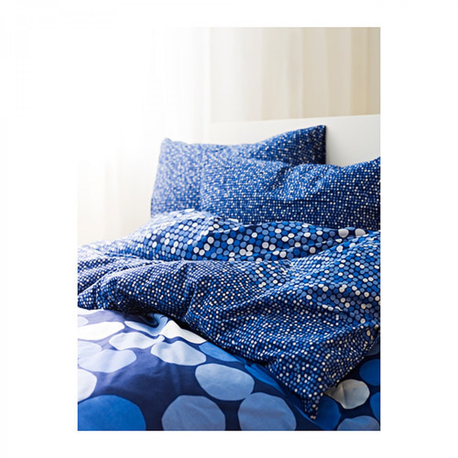 Ikea Sm 214 Rboll Smorboll King Size Quilt Duvet Cover Bedding