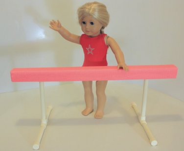 Balance Beam for American Girl Doll or 18 inch Doll