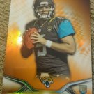 2014 Topps Platinum Orange Refractor Blake Bortles