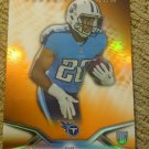 2014 Topps Platinum Orange Refractor Bishop Sankey