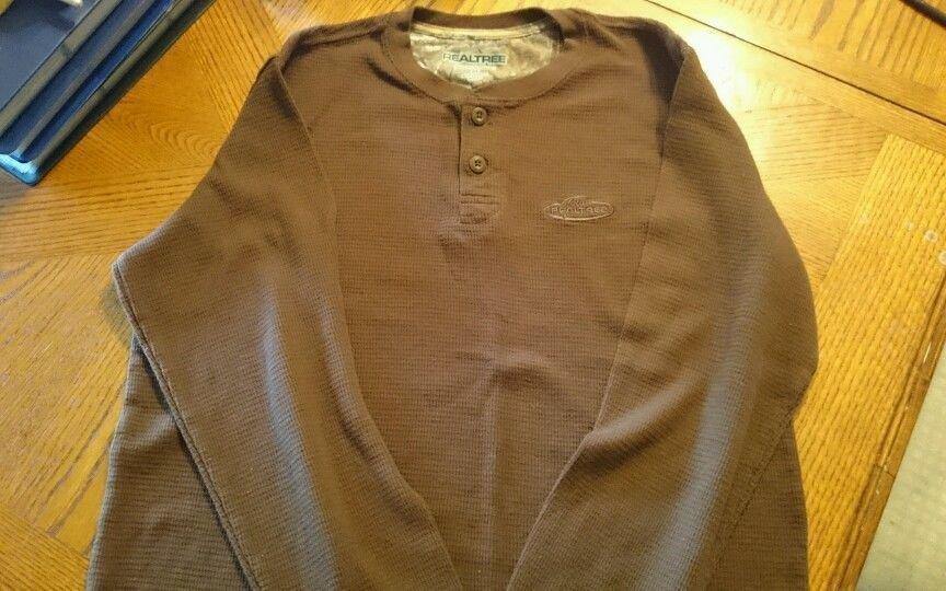 NWOT Mens Size Large RealTree Long Sleeve Shirt