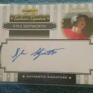 2008 Razor Exclusive Signature #ES-5 Kyle Skipworth Miami Marlins