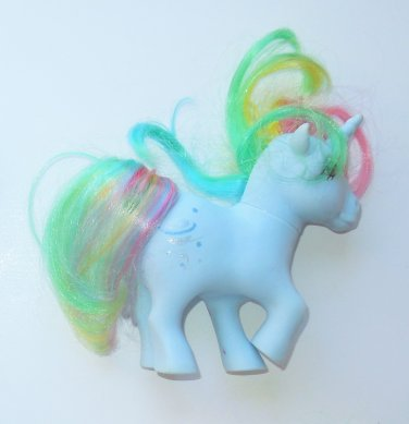 1983 Hasbro G1 My Little Pony MLP Unicorn Moonstone