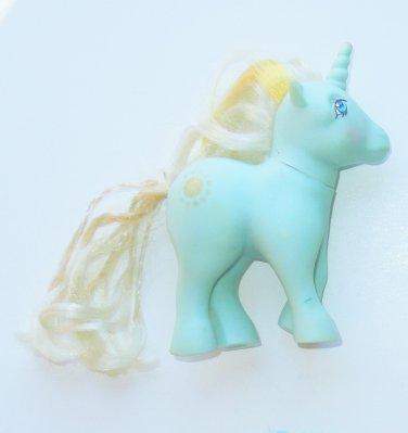 1983 Hasbro G1 My Little Pony MLP Unicorn Sunbeam Pony