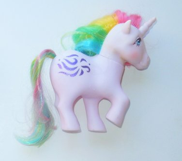 1983 Hasbro My Little Pony G1 MLP Unicorn Windy