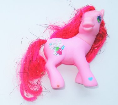 2004 Hasbro My Little Pony G3 MLP Butterfly Island Shimmer Pony Strawberry Reef