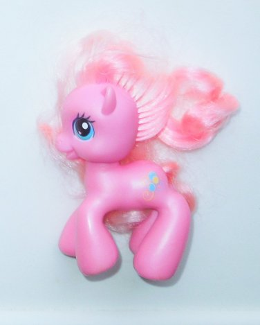 "2008 Hasbro My Little Pony G3 MLP Pinkie Pie VI 3"" Pony Open Mouth"