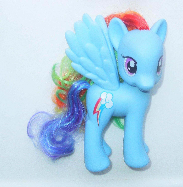 2010 Hasbro My Little Pony Mlp Pegasus Fashion Style Rainbow Dash