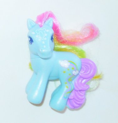 2008 Hasbro McDonald's My Little Pony MLP Happy Meal #1 Rainbow Dash