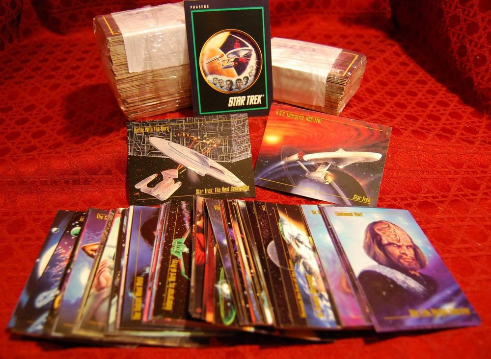 STAR TREK Cards - Mixed Lot (some missing, some duplicates)