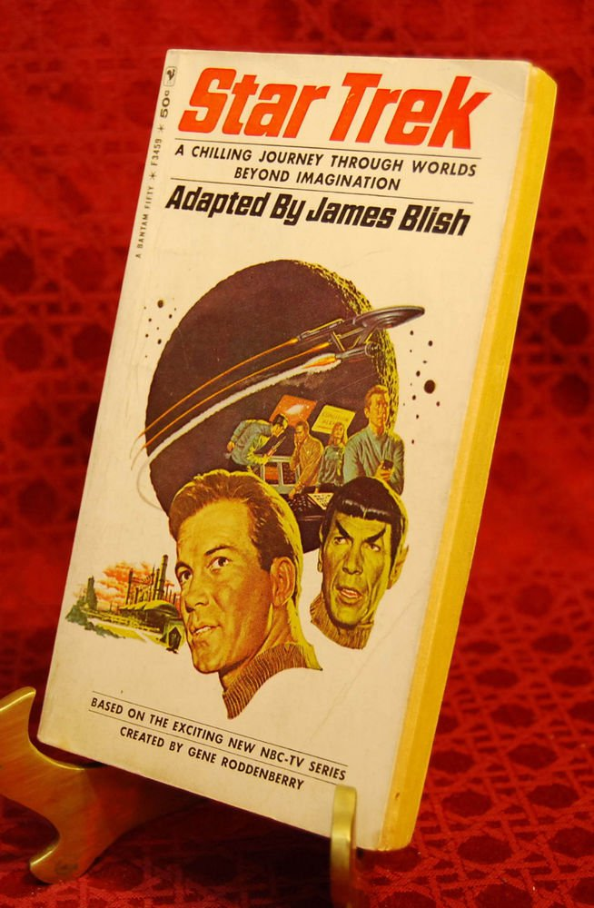STAR TREK by James Blish (1967 - 1st Printing)