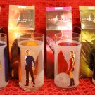 STAR TREK Commemorative Glasses (set of 4) from Burger King (2009)