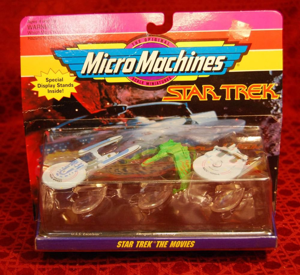STAR TREK Micro Machines Original Series Movie Ships