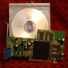 OEM Atlantis ATI RADEON 9000 64MB DDR AGP 2X/4X Model S-Video VGA D-Sub Output