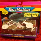STAR TREK Micro Machines Original Series Enterprise Klingon Romulan Ships