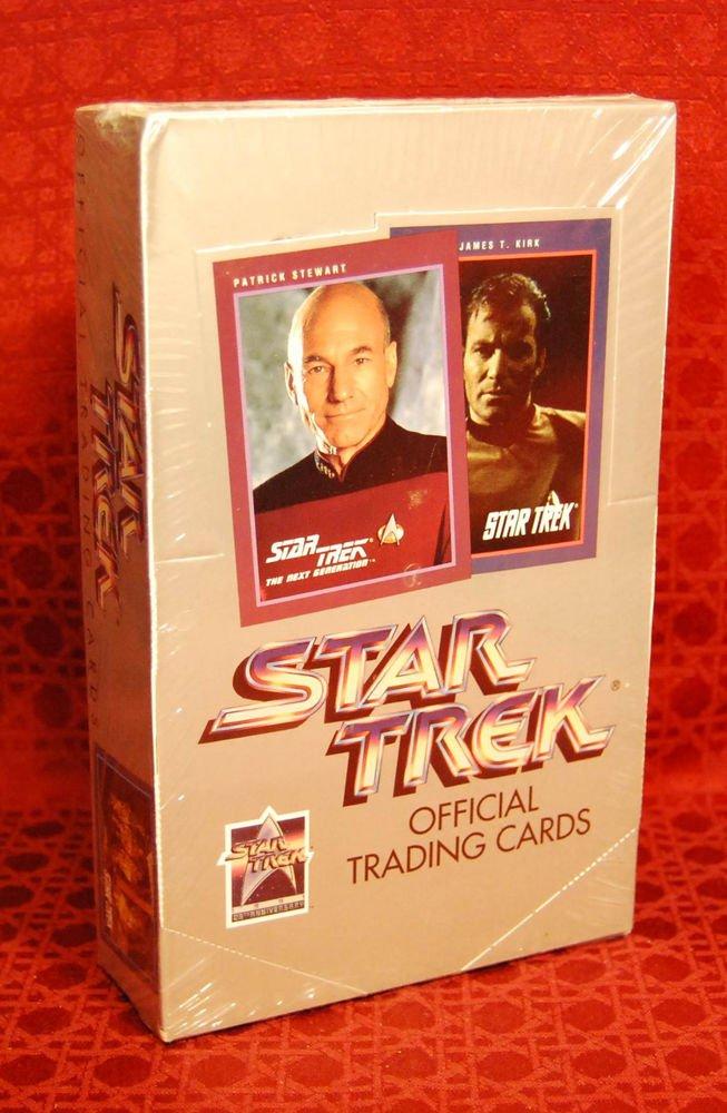 STAR TREK Silver (25th) Anniversary Impel Commemorative Series I Cards (1991)