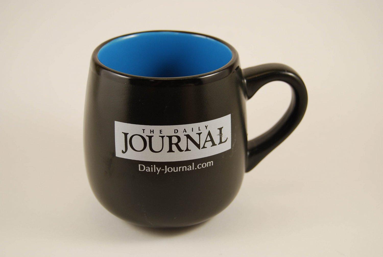 Kankakee IL Daily Journal Newpaper Ceramic Coffee Mug Cup