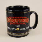 Maxwell House Magnificent Christmas Spectacular Radio City Ceramic Mug Cup 1985