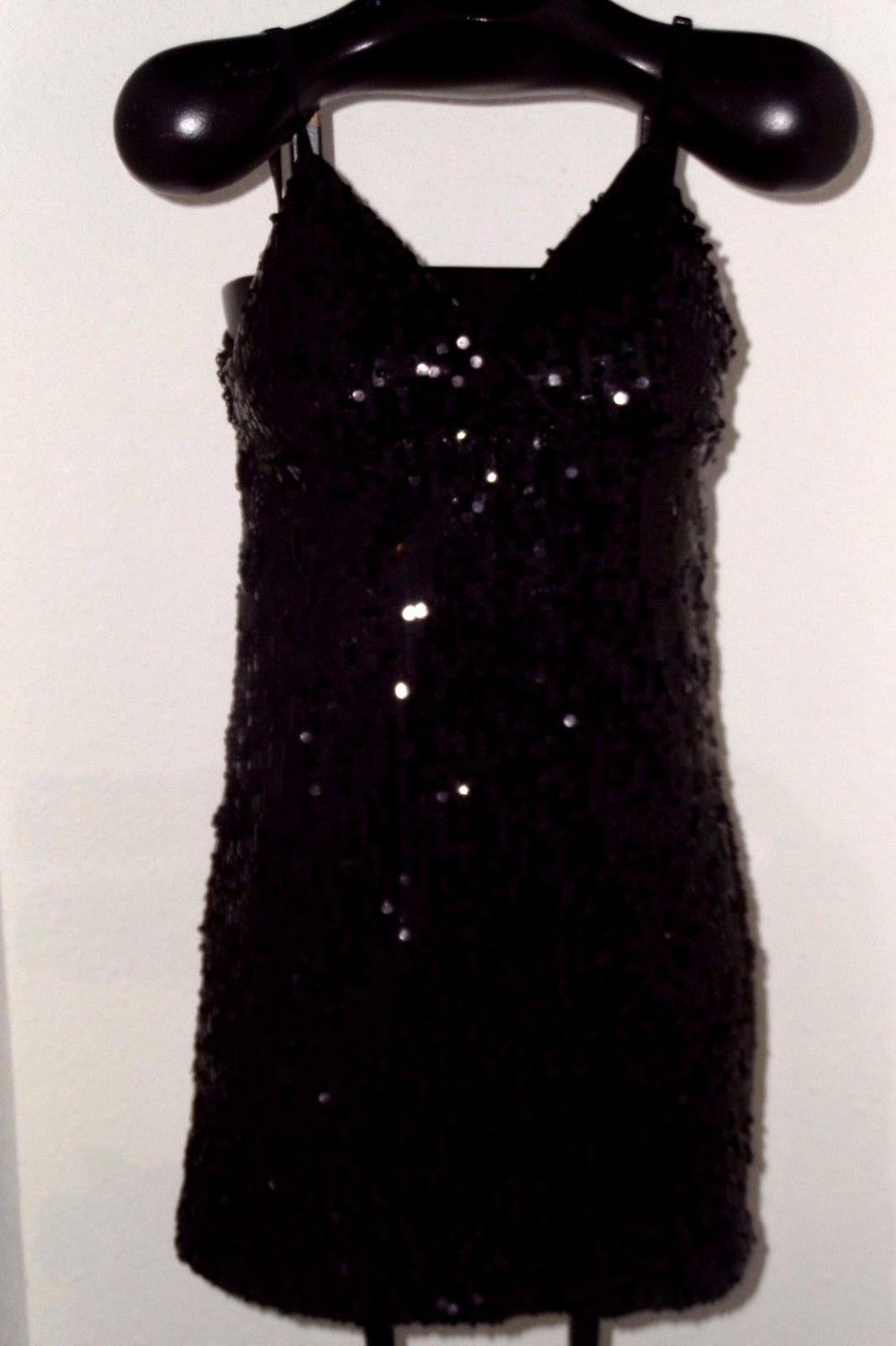 Women's Black Sequin Dress size L by Poetry Clothing