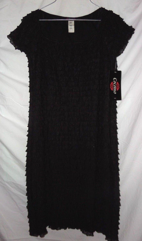 Women's little Black Dress size M by Cocomo NWT