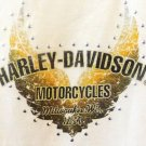 HARLEY DAVIDSON WOMENS LADIES TANK TOP T-SHIRT BLOUSE