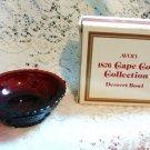 CAPE COD COLLECTION AVON DESERT BOWL PLATE GLASSWARE