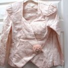 Peach 2-pc Summer Outfit  Skirt & Top Size 12