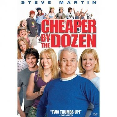 Cheaper by the Dozen (DVD, 2004)