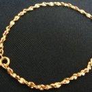Avon Goldtone Facets Wrist Large Bracelet Vintage