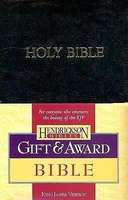 Gift and Award Bible-KJV (2006, Imitation Leather)