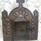 Decorative Metal Church  Hanging Frame w/ Glass