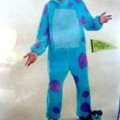 Disney Pixar Monsters Inc Deluxe Adult Unixes Costume Size XXL