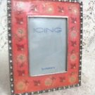 Icing Peach Floral Photo Frame  by Claire's Girls Ladies