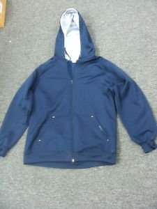 Anchor Blue Navy Blue  Coat Jacket w/ Hoodie Large
