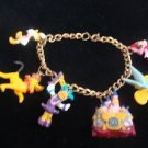 Walt Disney Mickey Mouse Pluto Tinkerbell Donald Duck 50th Anniversary Bracelet