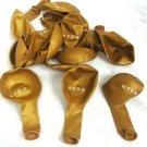 Avon Gold Ballons Set (14) - L@@K!