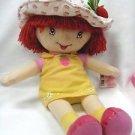 """Strawberry Shortcake 20"""" Plush Doll & VHS Movie"""