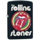 Chrome, Black Matte, Rolling Stones Logo