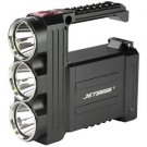 T8 Flashlight, Black, 3500 lm, 6x 18650 Battery Pack