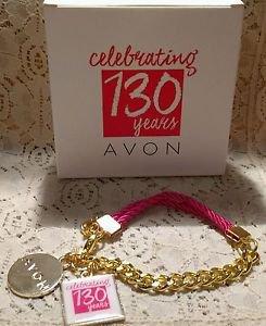 Avon 130 Year Celebration Charm Bracelet