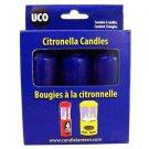 9-Hour Candles, Citronella, Blue, 3pk