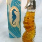 Avon Heres my Heart Vintage Cologne Sea Horse Miniature Decanter 1.5 oz.
