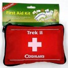 Coghlan Trek II Nylon Soft Pack First Aid Kit Red