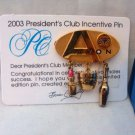 Avon PC Incentive Award Goldtone Pin Brooch
