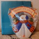 Avon Snowy Days Thermometer Holiday Snowman