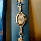 Avon Sparkling Crystal Bracelet Ladies Womans Silver Tone Watch