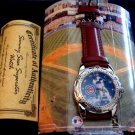 Avon Chicago Cubs Bear Sammy Sosa Leather Band Watch w/ Certificate Authenticity