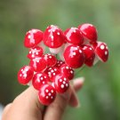 Garden Micro Landscape DIY Red Foam Mushroom Decorations